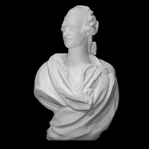 Jules-David Cromot, Baron du Bourg 3D Model