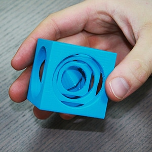 Turner's Cube 3D Model