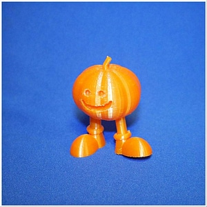 walking pumpkin 3D Model