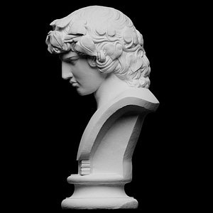 Modelo 3D de Portrait of Antinous as Dionysius