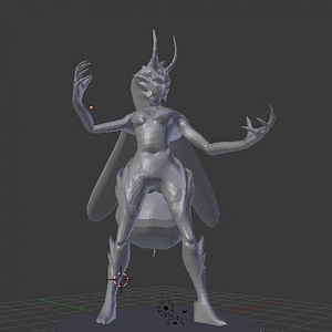 Modelo 3D de Thriae Queen