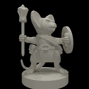 Mousefolk 3D Model