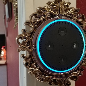 Modelo 3D de Baroque Echo Dot Wall Mount