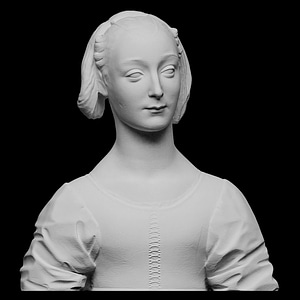 Portrait of Marietta Strozzi 3D Model