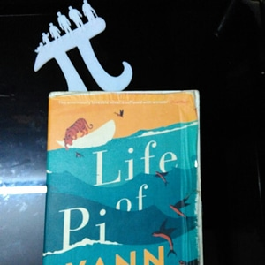 Modelo 3D de Life of Pi bookmark