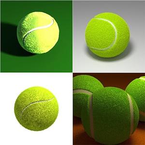 Tennis Balls 3D Model