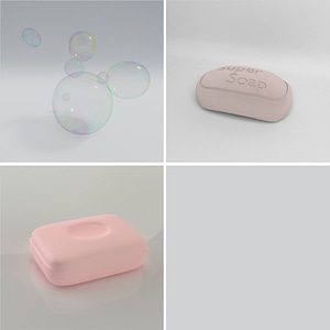 Set of Soap 3D 모델