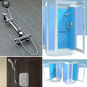Shower Pack 3D Model