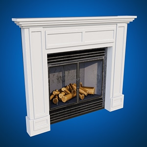 Fireplace3Dモデル