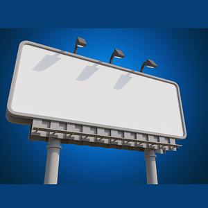 Billboard 3D-model
