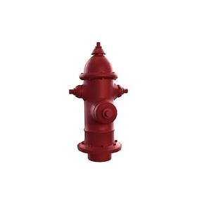 Fire Hidrant 3D Model