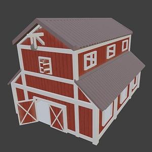Barn 3D-model