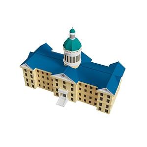 College Building 3D-model