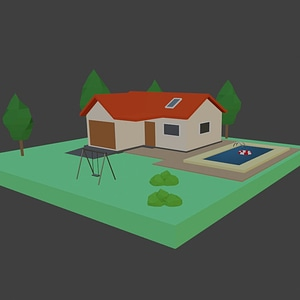 House 3D-model