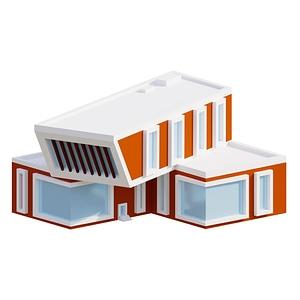 Library 3D-model