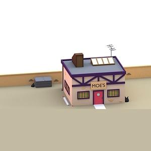 Moe`s Bar 3D-model