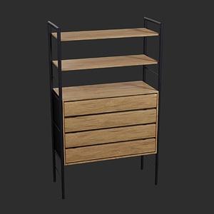 Drawer Cabinet 3D Model