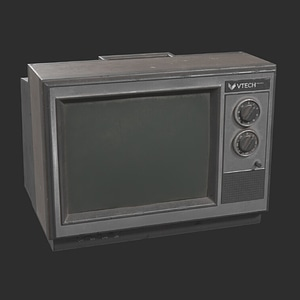 Old TV-set 3D Model