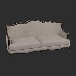 Vintage Sofa 3D Model
