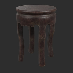 Table Wooden 3D Model