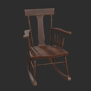 Rockingchair 3D-modell