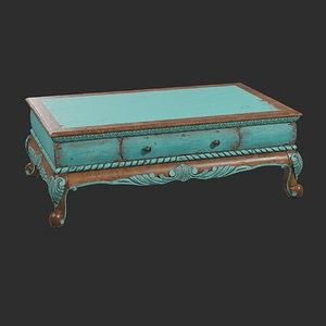 Coffee Table 3D-modell