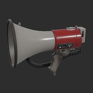 Megaphone 3D-model