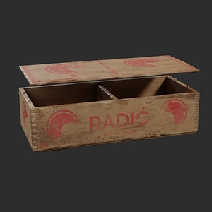 Cheese Box 3D Model