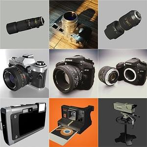 Cameras Pack 3D Model