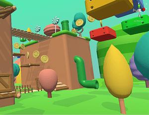 Mario Clone Modular Platformer 3D-model