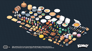 Food Kit3Dモデル