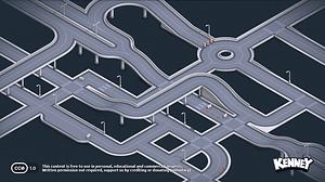 Roads 3D-model