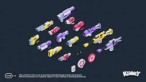 Blaster Kit 3D-model