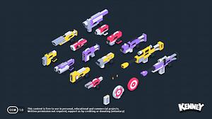 Blaster Kit3Dモデル