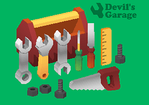 Mechanic's Tool Set 3D-malli