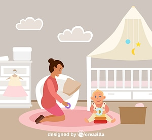 Babysitting vector