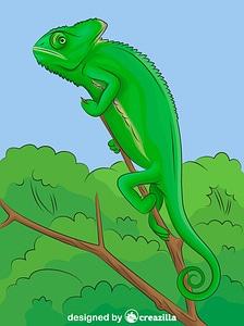 Veiled Chameleon vector