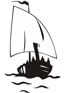 Boat Logo Template vector