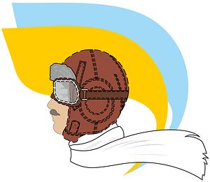 Vintage Pilot vector
