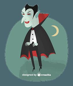Drakula vector