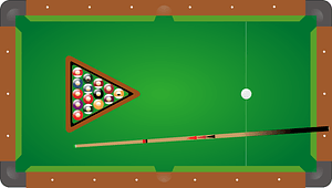 Pool assets vector