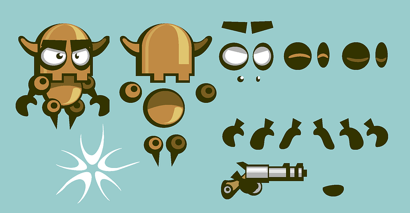 Superbot constructor vector