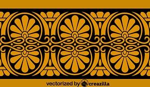 Ancient Greek Pattern vector