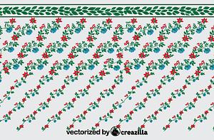 Leaf garland vector