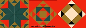 Romano-Byzantine Pattern vektor