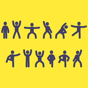 Exercises Icons vector