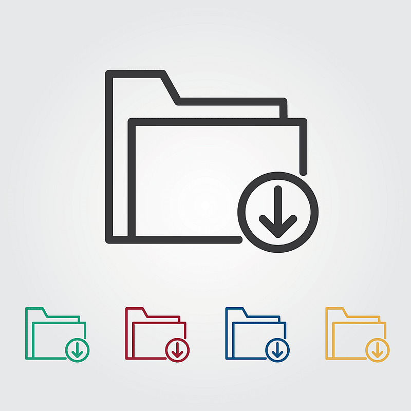 Download Colorful Icons vector