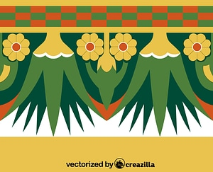 Egyptian pattern vector