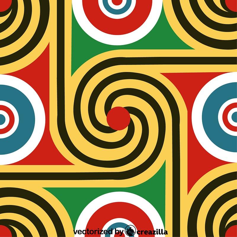 Egyptian pattern vector