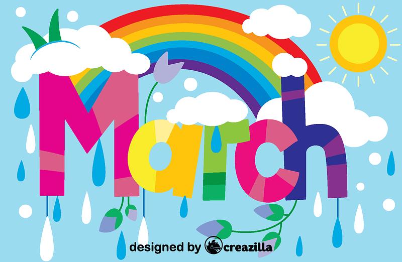 March vector